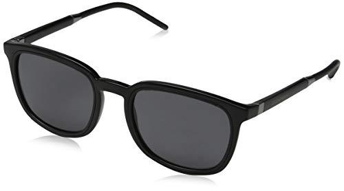 Dolce & Gabbana Men's DG6115 Polarized Sunglasses, Black/Grey, One Size