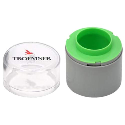 (TROEMNER SWCF-0002 Polycarbonate Case for 2 g Stainless Steel Test Weight)