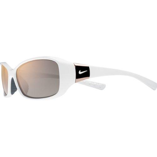 Nike Grey with Rose Gold Flash Lens Siren R Sunglasses, - Nike Sunglasses White