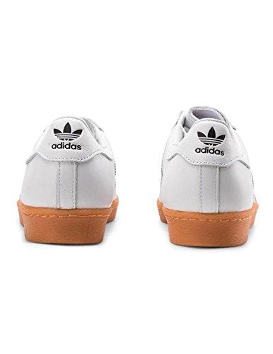 Adidas Originals Superstar 80s Dlx Heren Sneakers Sneakers Wit Goud Metallic S75830