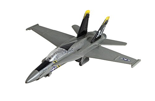 F-18 Gray Hornet Model Kit Skull and Crossbones Logo Kids Hobby 1:72 Scale