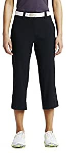 Nike Women's Modern Rise Tech Crop Pant - 0 - Black