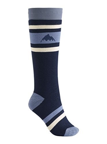 Burton Women's Weekend Snowboard Socks Mood indigo 2 Pack Size S/M US 4 7
