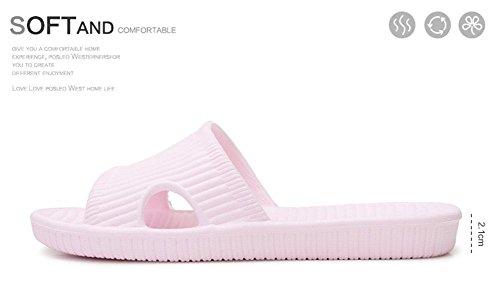 Ssuger9 - Zapatillas de estar por casa de goma eva para mujer Morado claro