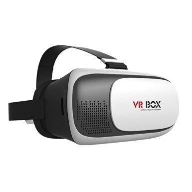 SUNPAUTO VR BOX 2.0 Virtual Reality Glasses 3D VR Box Upgrade II Glasses Virtual Reality Mobile Phone 3D Movies For 4.7~6 inch Smartphones