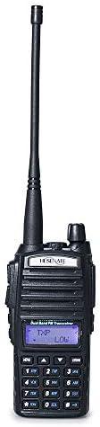 HESENATE HT-UV82 8w Tri-Power 8 4 1W Dual PTT Dual Band Two-Way Radio VHF 2M UHF 70cm Amateur Hand held Transceiver HAM