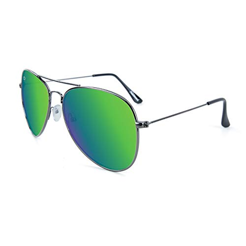 Knockaround Green Gunmetal Polarized Sunglasses Highs Moonshine Mile FPRUqrF
