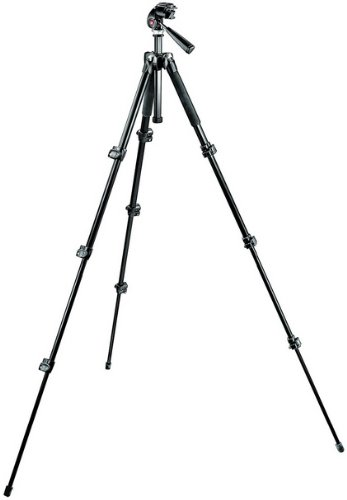 Manfrotto 三脚キット 293アルミニウムコンパクト三脚+RC1付き3ウェイ雲台キット MK293A4-A3RC1   B0049F4THC