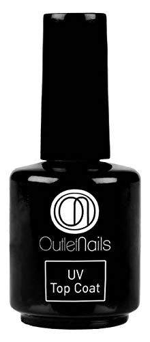 Top Coat 15ml / UV/LED Top coat 15ml / Fácil de retirar/Outlet Nails Alta calidad Ser Beauty S.L.