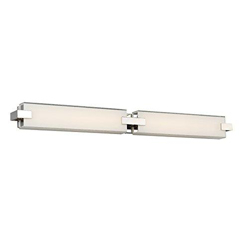 Amazoncom WAC Lighting WSPN Contemporary Bliss Led Bath - 36 inch bathroom vanity light
