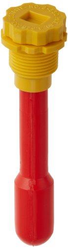 Justrite 08530 Polyethylene Vertical Drum Fill Pop Up Gauge, 3/4