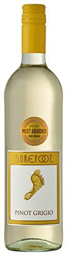 (Barefoot Pinot Grigio, 750 ml)
