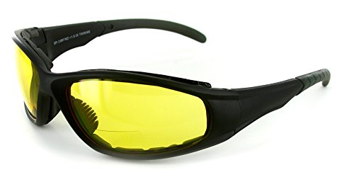 Sportster Bifocal Reading Sunglasses/Safety Glasses with Padded Interior