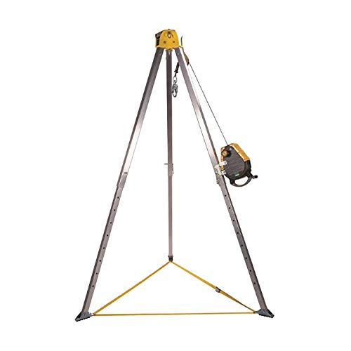 MSA 10163034 Workman Confined Space Entry Kit with 50' Workman Rescuer, Stainless Steel Cable, Pulley, Carabineer ()