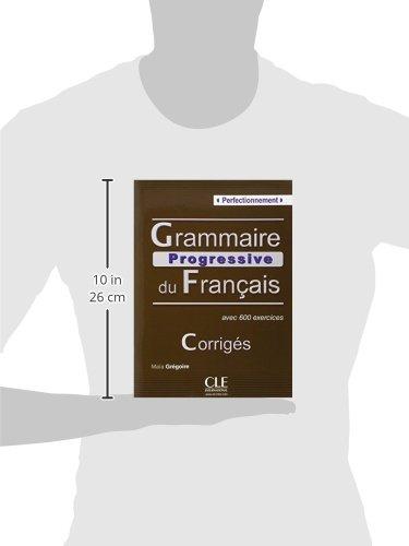 Amazon grammaire progressive du franais niveau amazon grammaire progressive du franais niveau perfectionnement corrigs maa grgoire livres fandeluxe Images