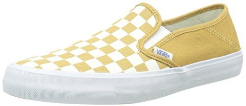 Top Low Slip SF Yellow Beige spruce checkerboard Herren On Vans w1vBqRv