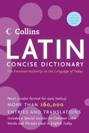 Collins Latin Concise Dictionary (Collins Language) by HarperCollins Publishers Bilingual Edition (Latin Concise Dictionary)