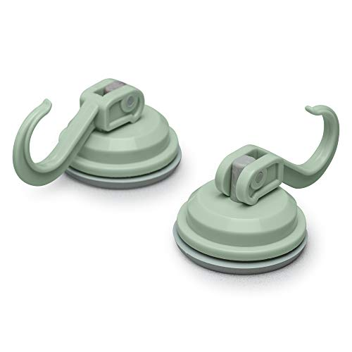 - Zeal Suction Hook, Sage Green, Medium