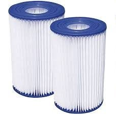 Summer Escapes B Cartridges, One Pack of Swimming Pool Filters. Patented Cartridge Filter with Built-in Chlorinator