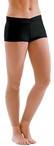 Motionwear Girl's V-Waist Short Shorts L - V-waist Dance Shopping Results