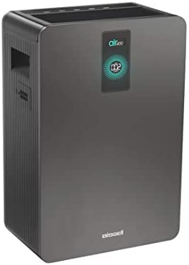 Bissell Grey air400 Air Purifier with High Efficiency Filter and CirQulate System 423 sqft 24791