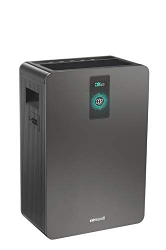 Allergen Filtration System - Bissell air400 Air Purifier with HEPA Filter and CirQulate System, Grey, 24791
