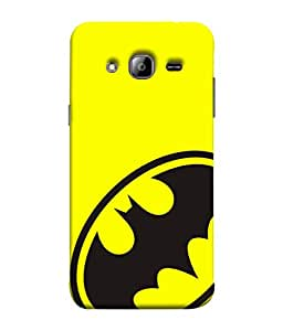 ColorKing Samsung J5 2015 Case Shell Cover - Batman Black & Yellow
