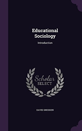 Educational Sociology: Introduction