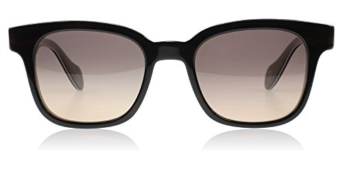 Paul Smith 8227SU 14469N Black Horn Denning Wayfarer Sunglasses Polarised - Paul Sunglasses Smith Wayfarer