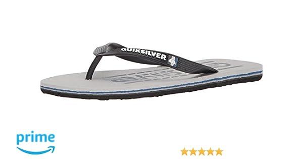 10408b0bb45e Amazon.com  Quiksilver Men s Molokai Wordmark Sandal  Shoes