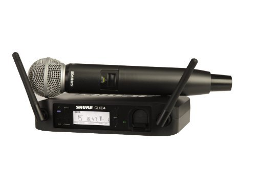 Shure GLXD24/SM58 | Handheld Wireless System SM 58 Microphone Z2 Band 2.4 GHz
