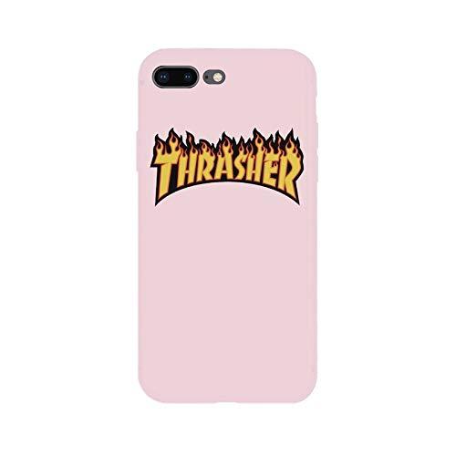 dea78c59260cf 1 piece Brand NEW Logo Jordan AIR Fire Soft Case for iPhone 8Plus 7Plus 8 7  6sPlus 6s 6Plus 6 X Xs XR Xs Max 5 5s SE Phone Cases Cover