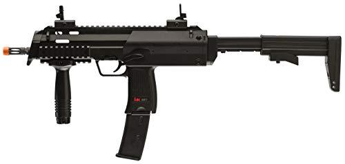 umarex 2279040 hecker and koch mp7 aeg airsoft air gun pistol, black matte finish(Airsoft Gun)