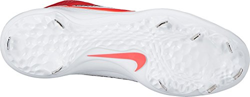 Nike Mens Force Air Trout 4 Pro Metal Baseball Cleats Red/White XxRYiU