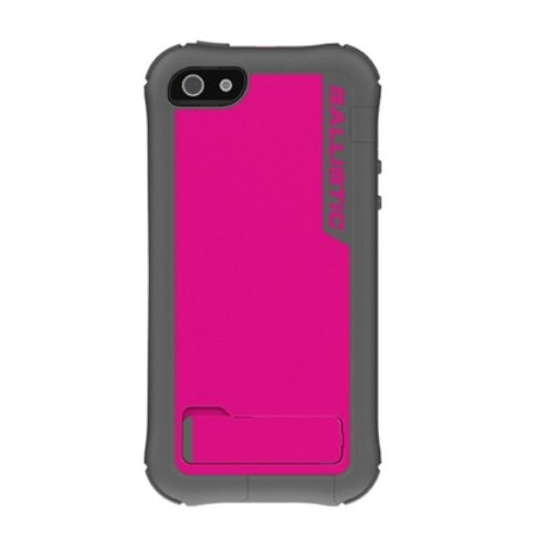 (Ballistic Every1 Series Case for iPhone 5/5S - Retail Packaging - Charcoal/Raspberry )