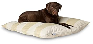 Darling Little Place Cama para Perros, 110 x 110 cm, Arena Stripes