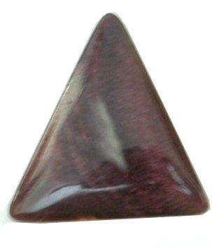 - Purple Spiney Oyster 23x24mm Triangle Cabochon Stone