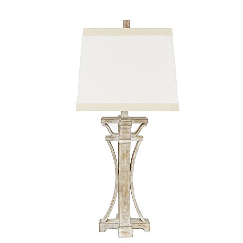 (Silverwood CPLT1382 Meredith Weathered Finish Table Lamp, 29