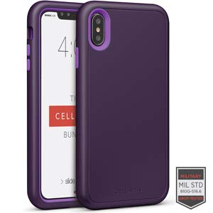 Cellairis Aero Case for Apple iPhone Xs Max - Rapture Dark Purple/Purple Matte F from Cellairis