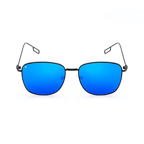 Azul TWIG TANNING espejo Negro hombre mujer Gafas sol de degradadas qx1EAzHzw