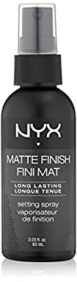 NYX Cosmetics Make Up Setting Spray, Matte Finish/Long Lasting