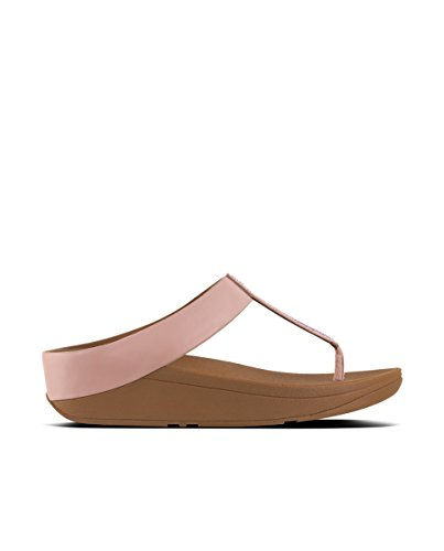 Fitflop Fino Crystal Toe-Thong Sandals - Sandalias de Mujer EN Color Rosa