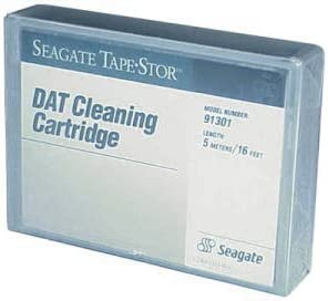 B00004Z5VL Seagate DAT 30-Pass Cleaning Cartridge 4MM for DAT Drives 1-Pack (Discontinued by Manufacturer) 31LxVqNcE8L
