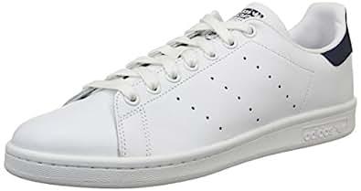 adidas Originals Stan Smith, Zapatillas de Deporte para Unisex adulto, Blanco (Running White/New Navy), 36 2/3 EU