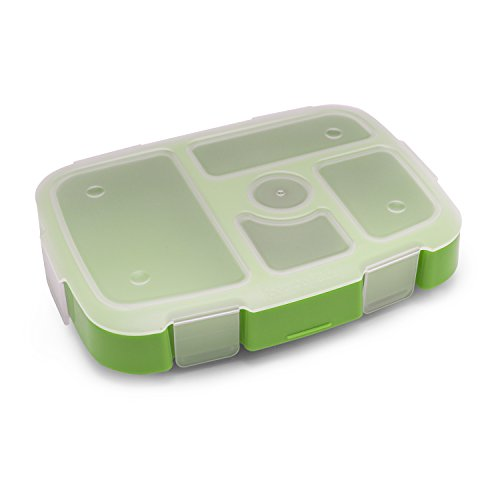 Bentgo Kids Tray with Transparent Cover (Green)