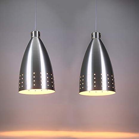 Lightess Lámpara Colgante Industrial Luz de Techo de ...