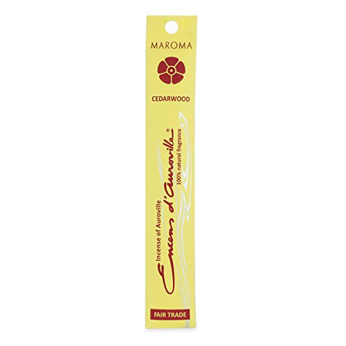 Maroma Sticks - Maroma EDA Incense Cedarwood, 10 Sticks