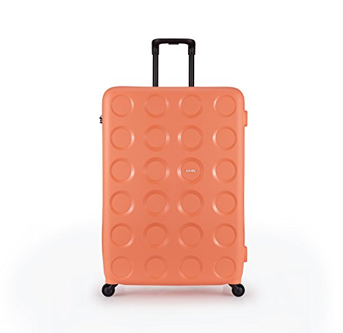 Lojel Vita Upright Spinner Luggage, Peach