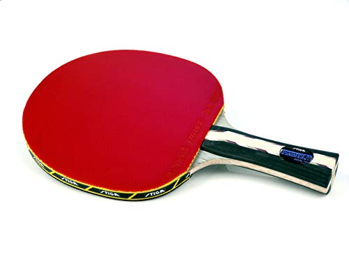 - STIGA Master Series Hammerlite Performance-Level Table Tennis Racket Made with Approved Rubber for Tournament Play