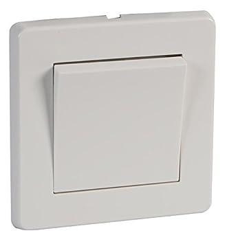 Rocker Light Switch >> Crabtree 5170 Wide Rocker Light Switch 10amp Single Gang 1 Or 2 Way